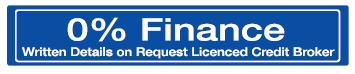 0% Finance (Written Details on Request Licenced Credit Broker)